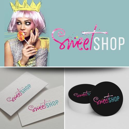 Logo design SweetShop