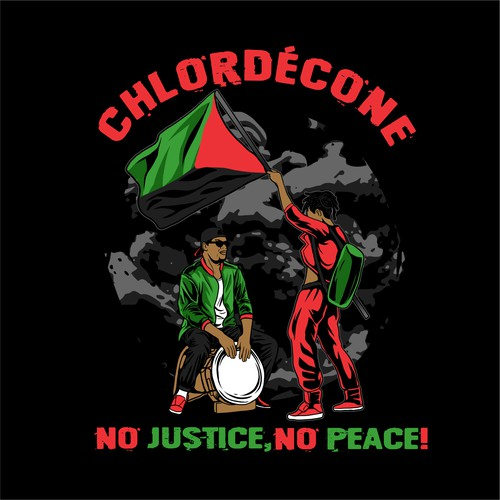 t-shirt  design inspiring rebellion and fight against injustice