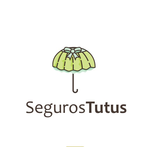 Playful logo for kids Life insurance company