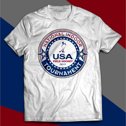 Create a design for USA Field Hockey National Indoor Tournament for YOLO Sportswear