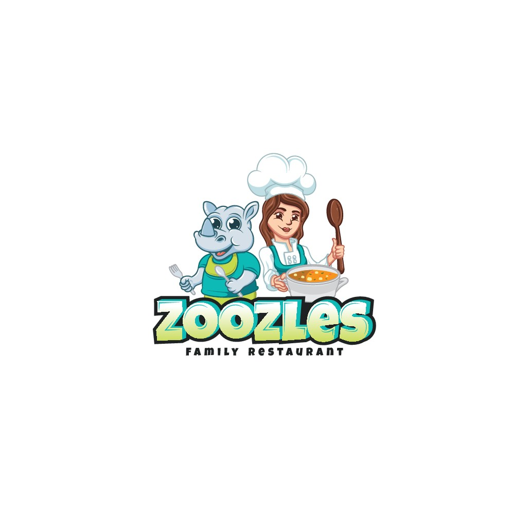 The newest kid-friendly restaurant in search of a fun, lively logo!