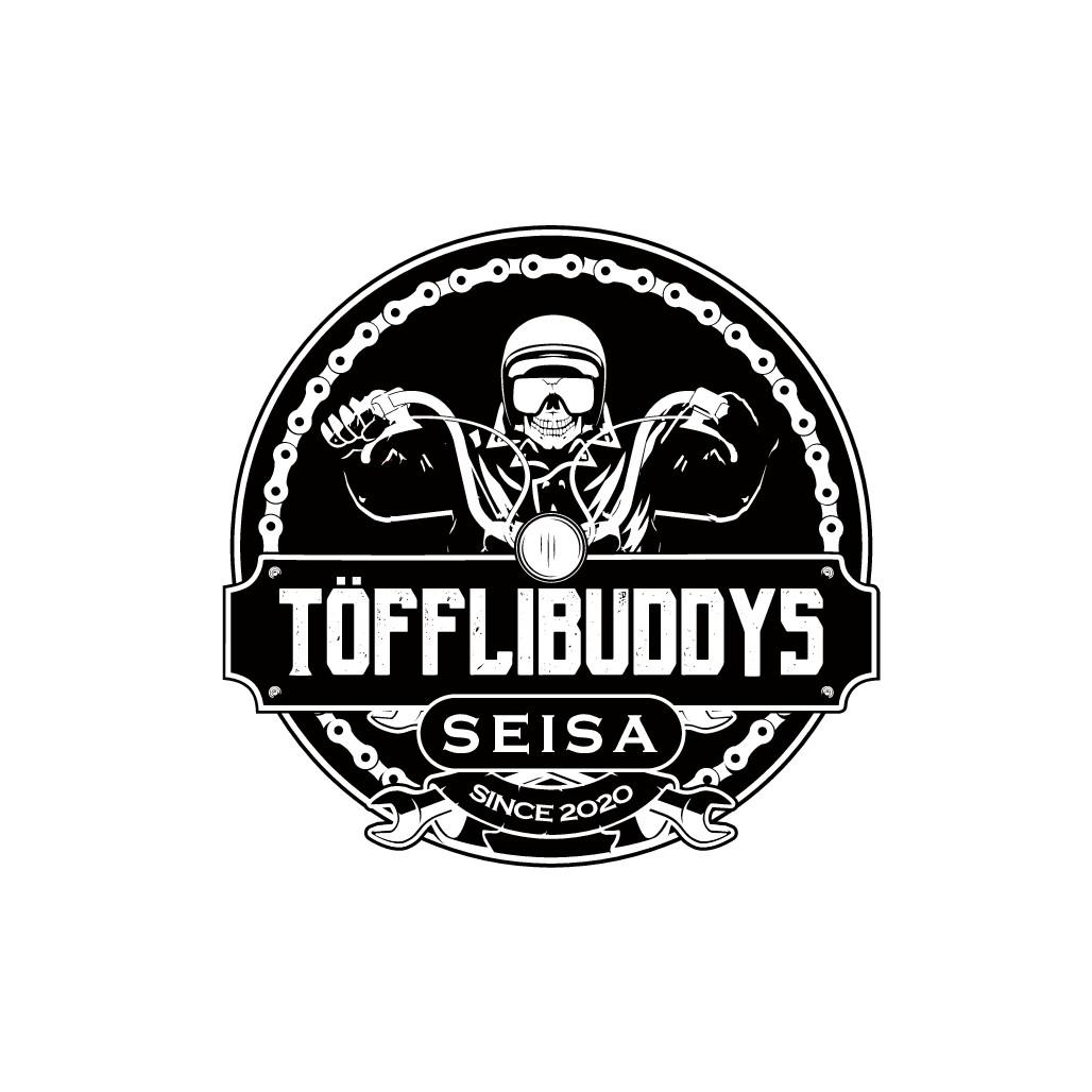 Custom/Vintage Logo für Mofaclub