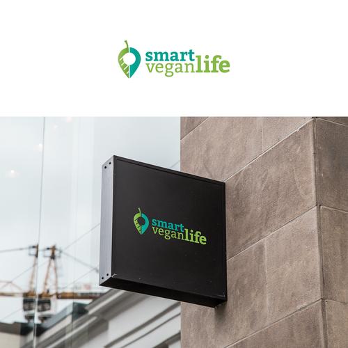 Logo for Smart Vegan Life
