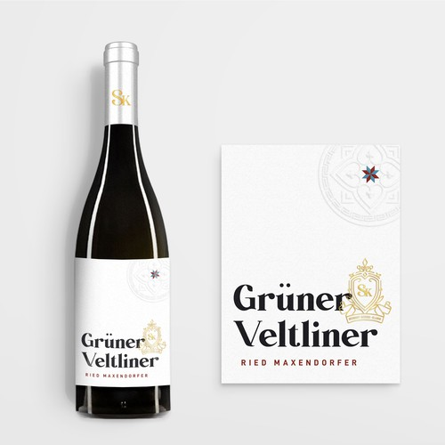 Guner Veltliner label design
