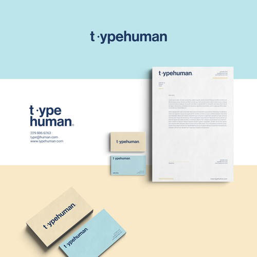 Typography concept for TypeHuman