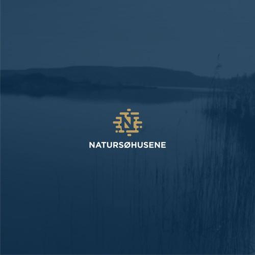 A logo for NATURSØHUSENE