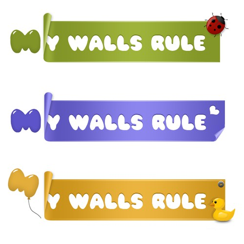 logo for My Walls Rule