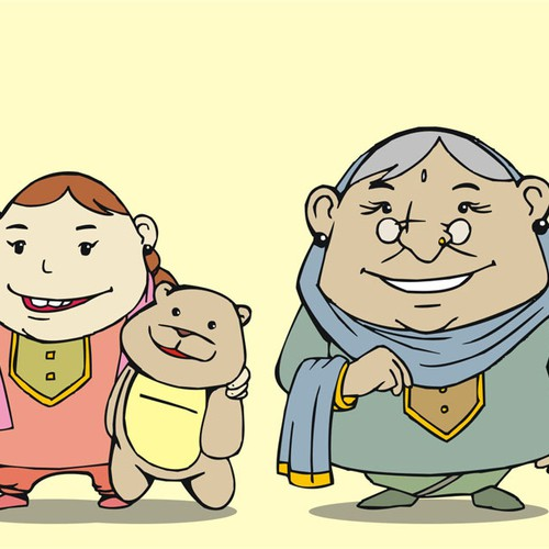 Create characters for our children's book series