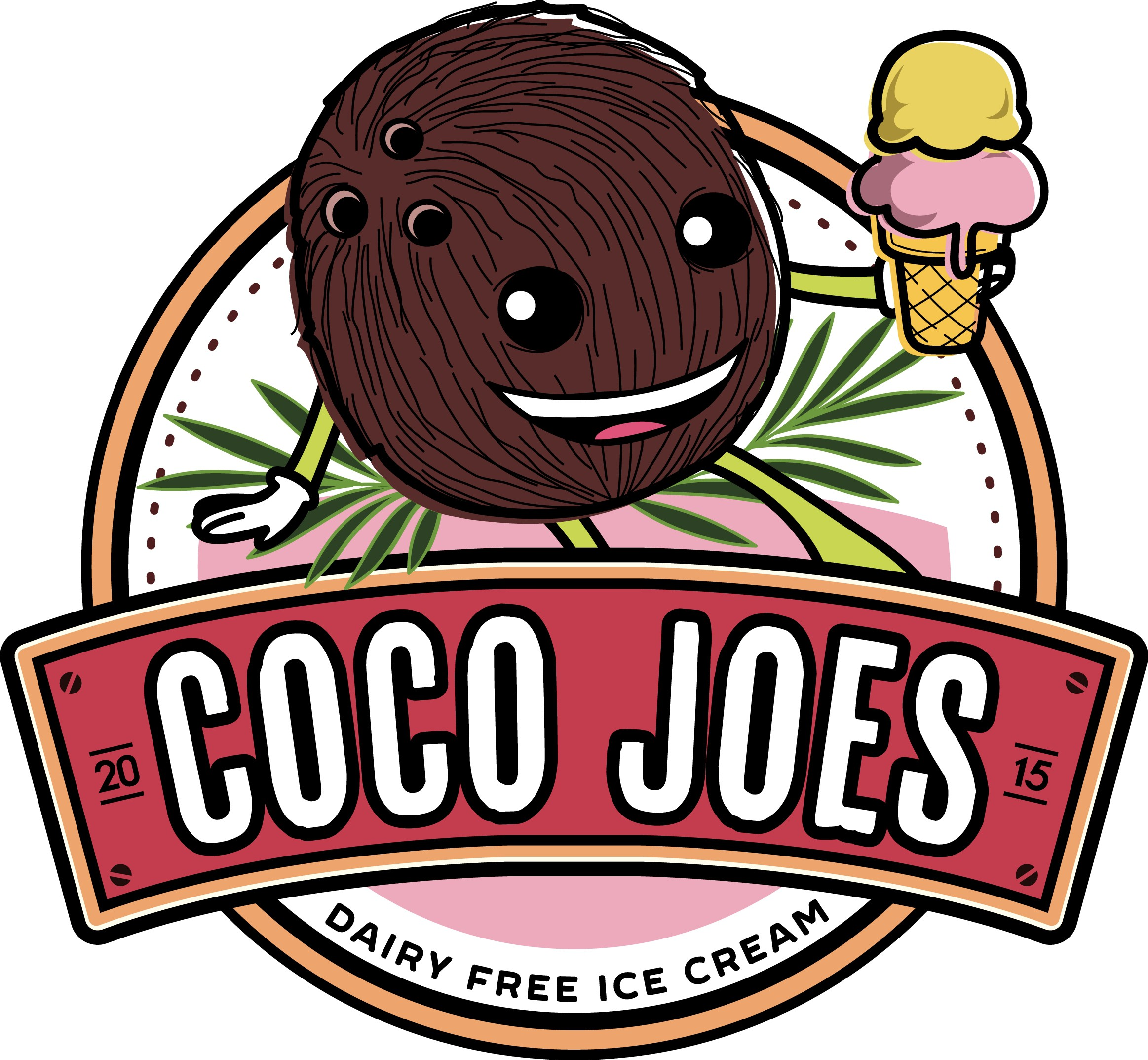 Create a logo for a new dairy-free icecream  business