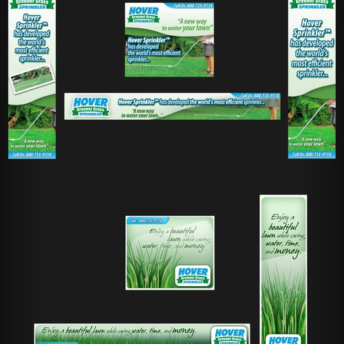 Banner Design in various sizes