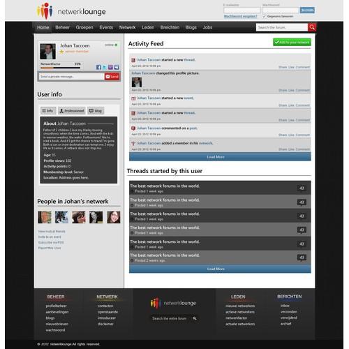 forum for netwerklounge