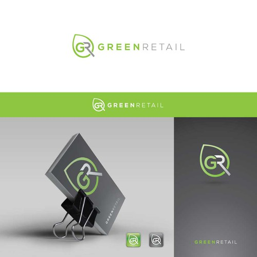 Logo design for Green Retail