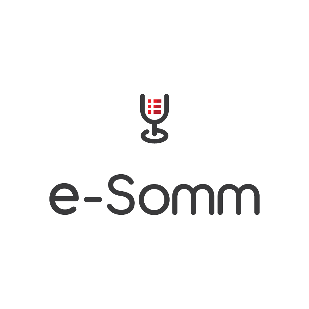 logo and website for online Sommelier services