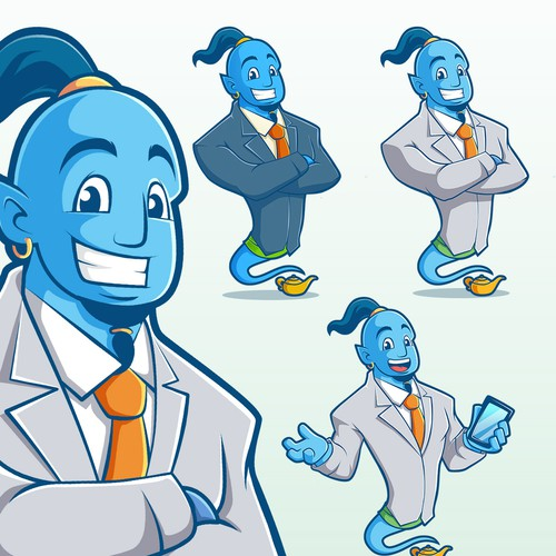 Genie character design