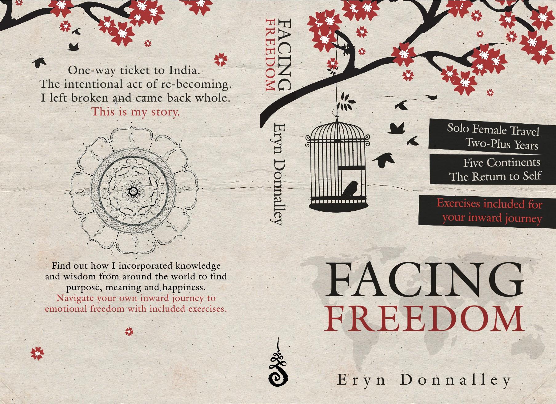 Design me a funky, artistic cover for a book to elevate consciousness