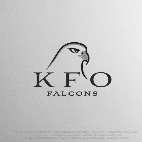 Logo for KFO Falcons