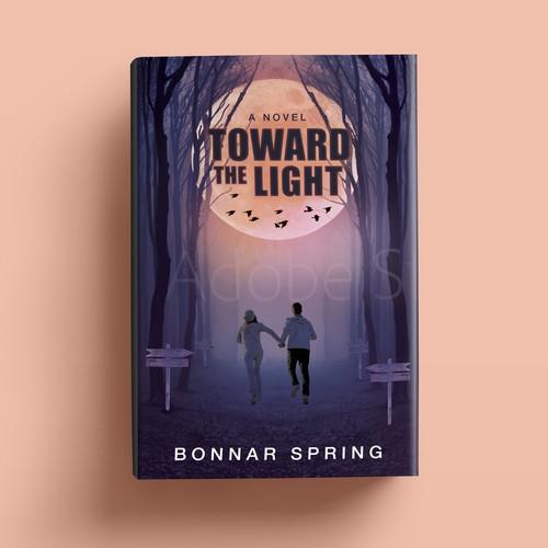 Book cover design for psychological thriller