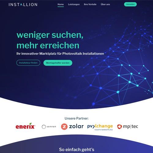 photovoltaics web design