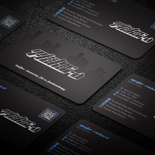 Business cards for Mister Richard
