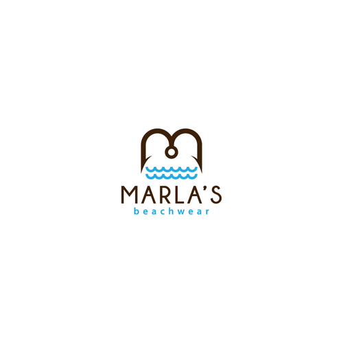 Logo for Marla's Beachwear