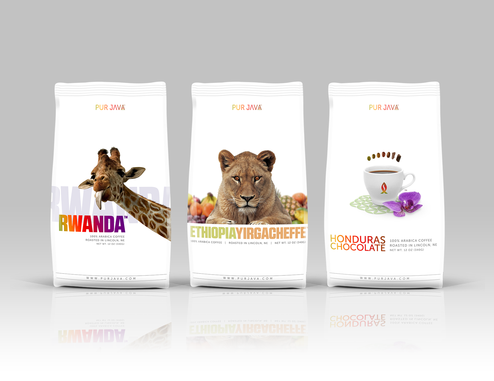 Pur Java Coffee Bage Designs
