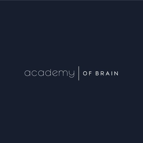 Creative, Clean Logo Design for Academy