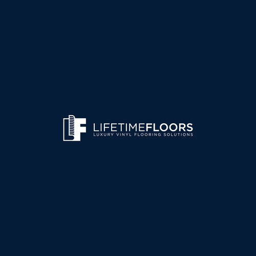 Combination Mark Logo Design for Lifetime Floor