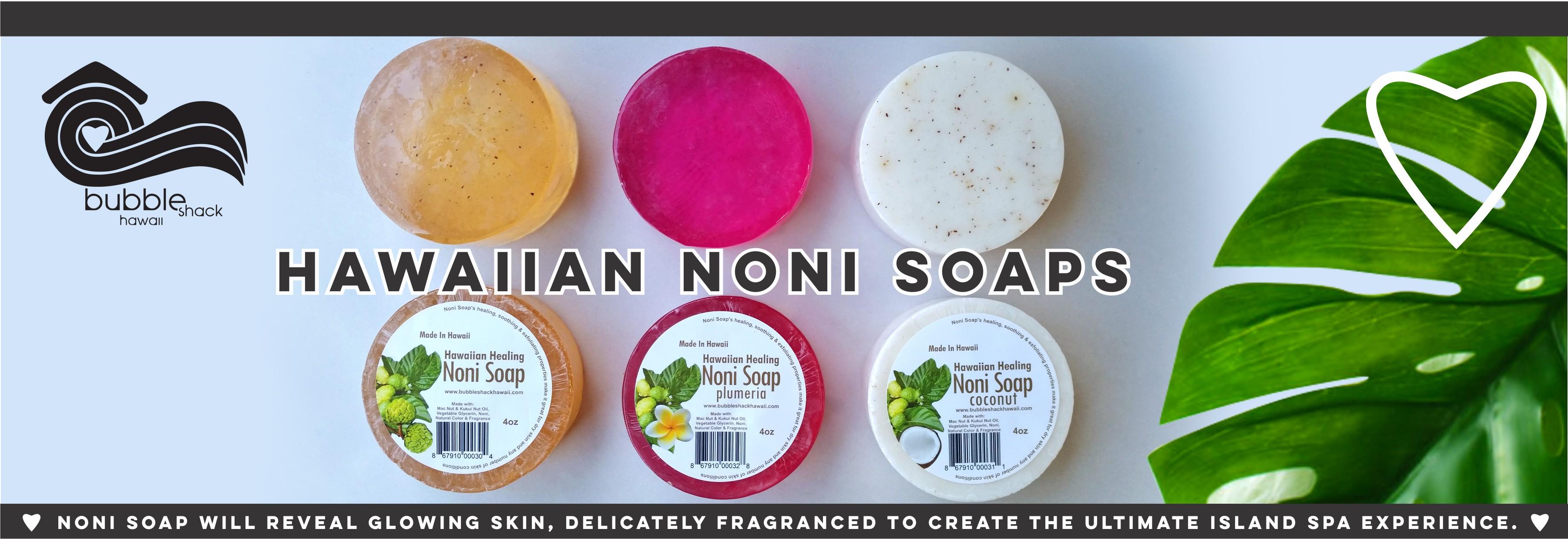 Hawaiian Noni Soap Header