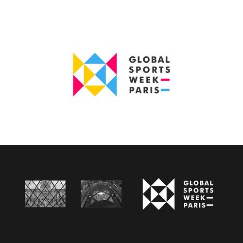 Logo design for Global Sports Week Paris
