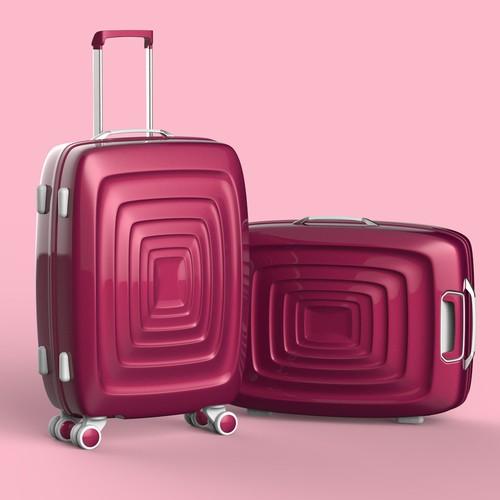 Hard Shell luggage design