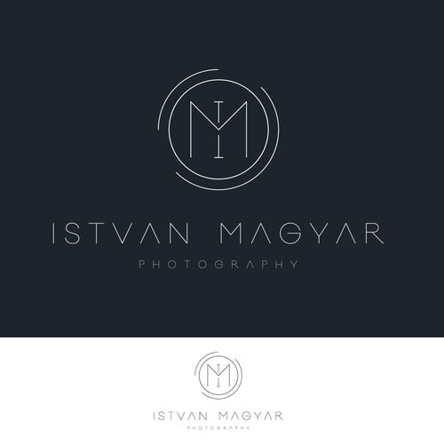 Elegant logo - photographer