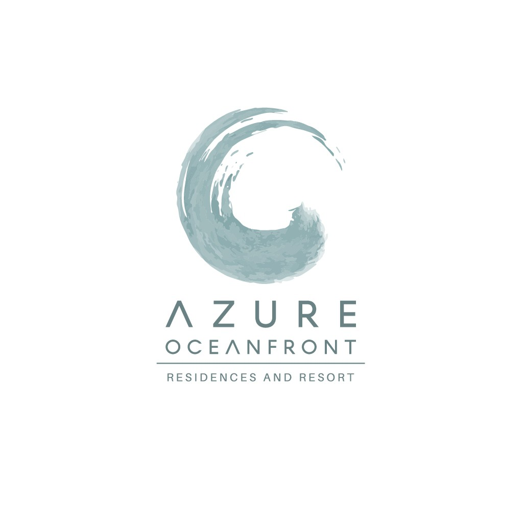 Logo for Azure Oceanfront Residences and Resort in Hollywood Beach, Florida.
