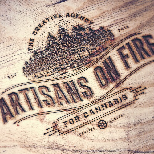 Artisans on fire - Logo