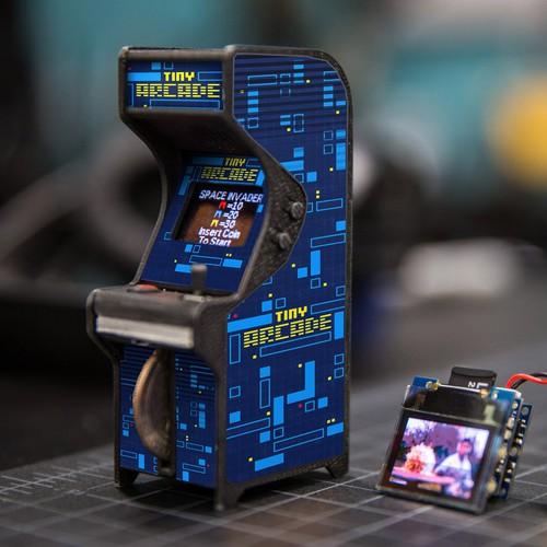 Artwork for a Tiny Arcade