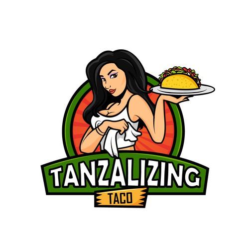 mascot logo taco