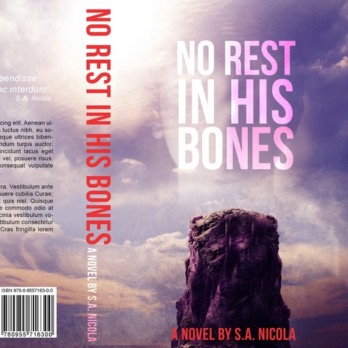 Book Cover - No Rest in His Bones