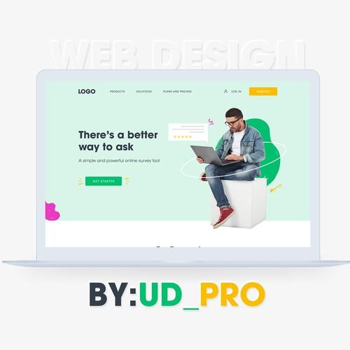 Website design for employee satisfaction survey