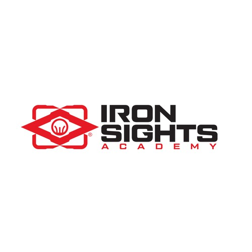 Logo design for Iron Sights Academy