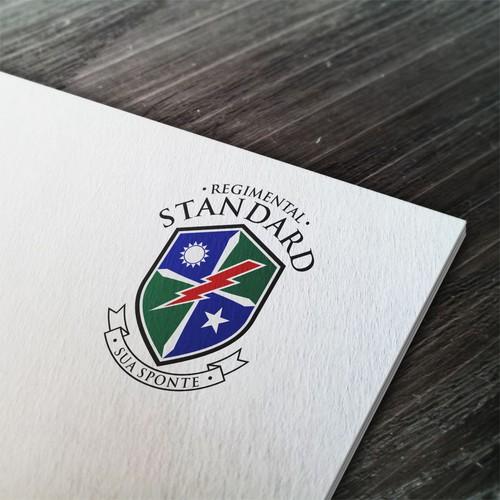 Design an impressive logo for REGIMENTAL STANDARD .