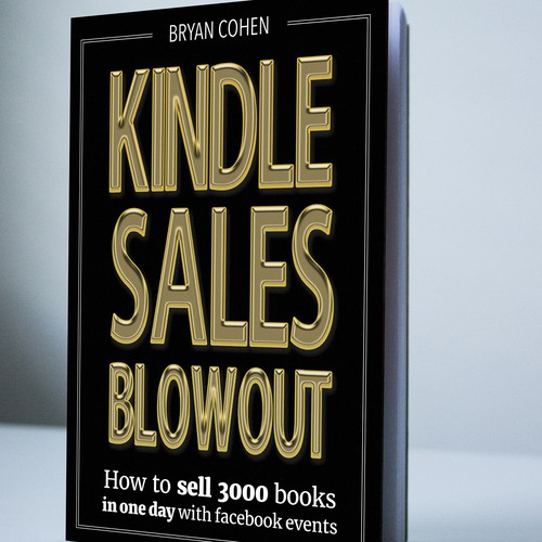 Book cover design for non-fiction author marketing book