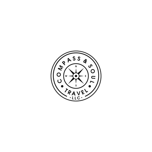 Logo Design for Compass & Soul Travel