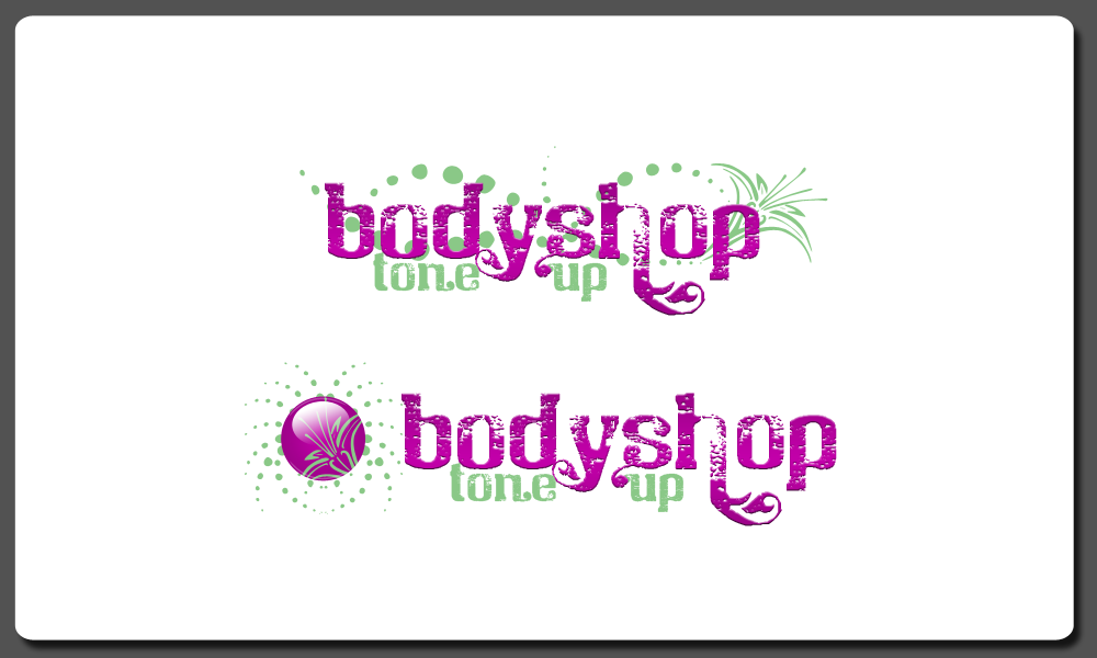 BodyShopToneUp needs a new logo