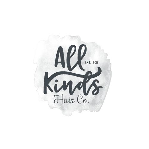 All Kinds Hair Co. Logo