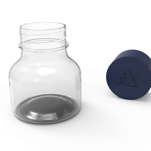Bottle design for Nurture