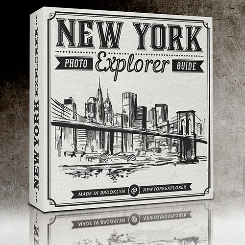 Package for photo guide about New York City.
