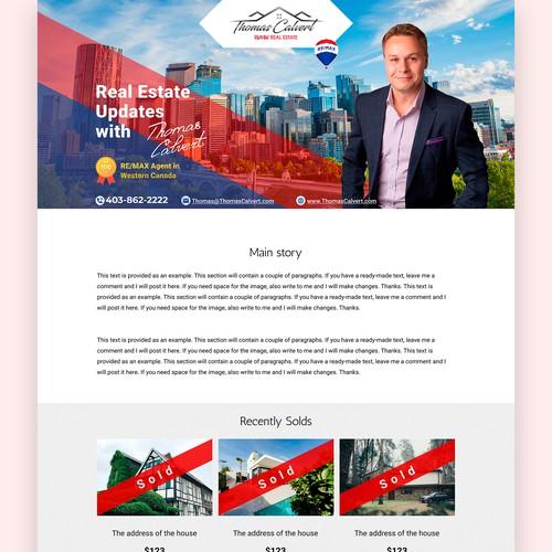 Design for a real estate agent