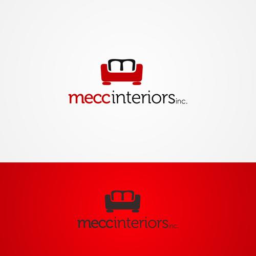 """Logo concept for """"mecc interiors"""""""