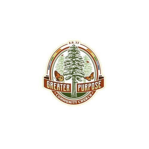 Crest logo for a craft beer