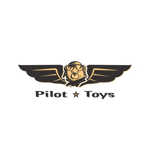 Cool, fun logo for Pilot Toys