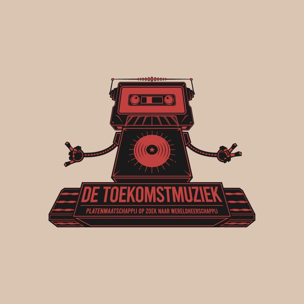 "Design a logo for a new Dutch record label ""de toekomstmuziek""! (""the future music"")"